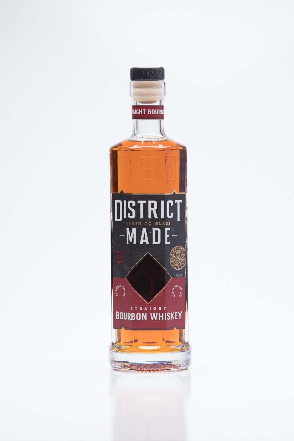 One Eight Distilling District Made Straight Bourbon Whiskey