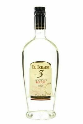 El Dorado 3-yr Rum - 750 ml