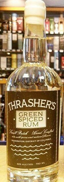 Thrasher's Green Spiced Rum - 750ml
