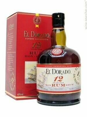 El Dorado 12 Yr Rum - 750 ml