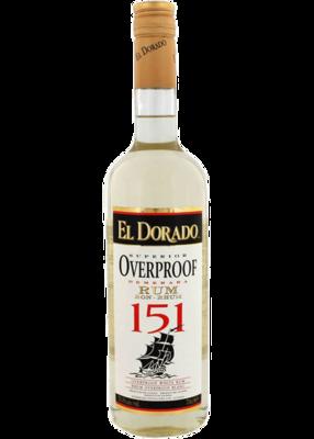 El Dorado 151-pf Rum - 750 ml