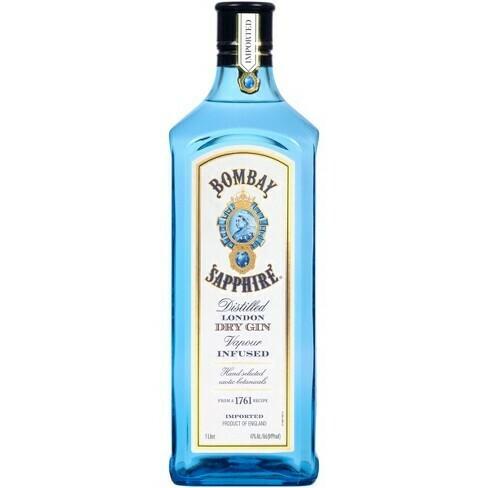 "Bombay ""Sapphire"" Gin 1.0L"