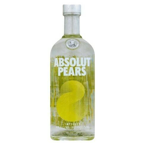 Absolut Pears Vodka - 750ml