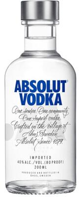 Absolut Vodka  200 mL