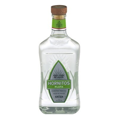 Hornitos Plata Tequila 100% de Agave 1L