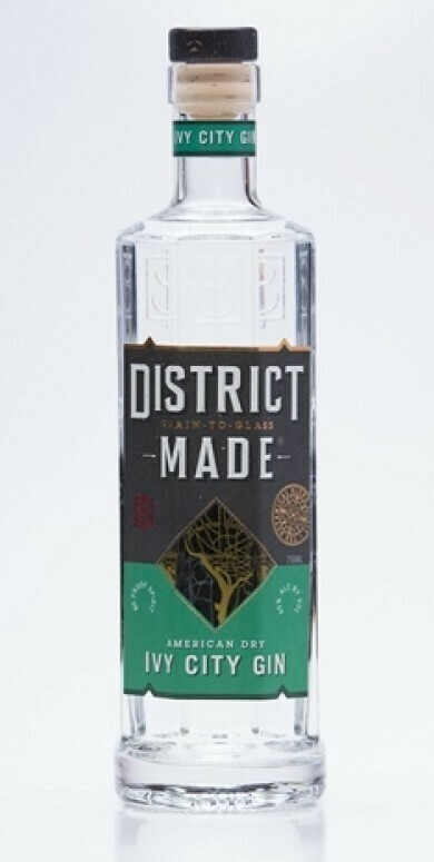 One Eight Distilling District-Made Ivy City Gin - 750ml