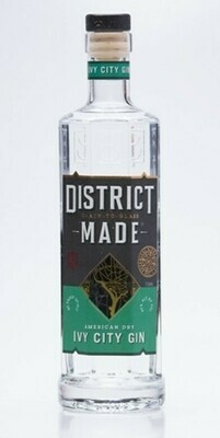 One Eight Distilling District Made Ivy City Gin - 750ml
