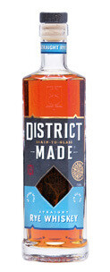 One Eight Distilling District Made Straight Rye Whiskey