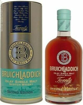 """Bruichladdich Second Edition """"Flirtation"""" Twenty Year-Old Single Malt Scotch"""