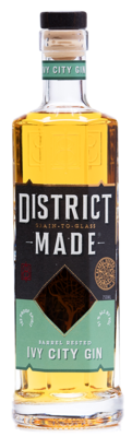 One Eight District Made Ivy City Barrel-Rested Gin - 750ml