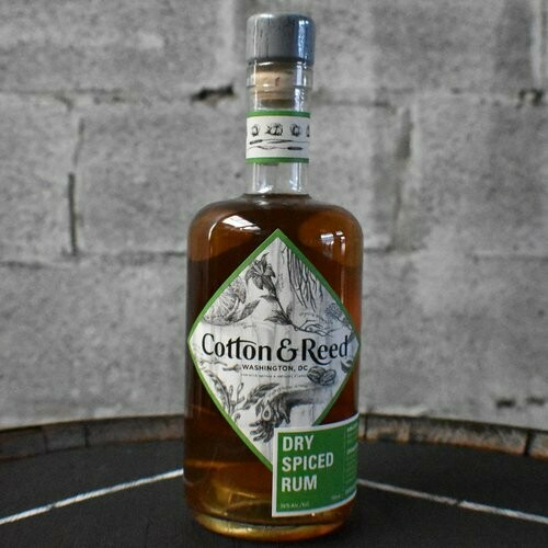 Cotton & Reed Dry Spiced Rum - 750ml