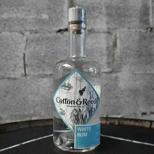 Cotton & Reed White Rum - 750ml