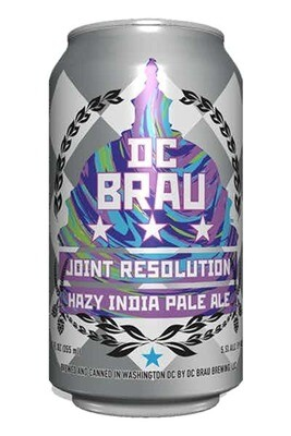 Dc Brau Joint Resolution Hazy IPA 6-pack