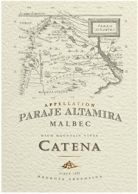 Catena Malbec Paraje Altamira