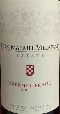 Don Manuel Villafane Reserva Cabernet Franc 2013