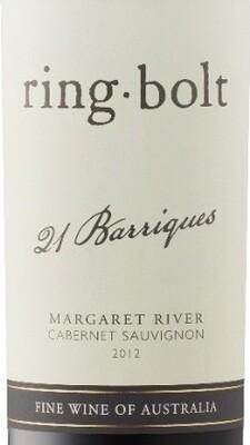 Ring Bolt 21 Barriques Margaret River Cabernet Sauvignon 12