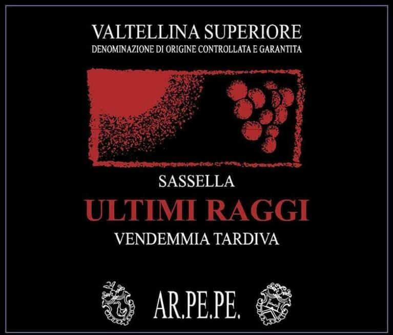 Ar Pe Pe Sassella Valtellina Superiore Ultimi Raggi 2005 ***SALE***