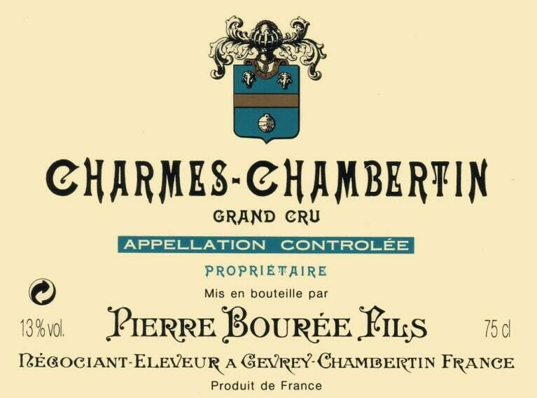 Bouree Gevrey Chambertin La Justice 2013 *SALE*