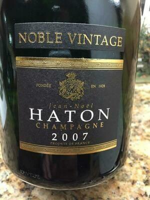 Haton Noble Vintage Brut 2007