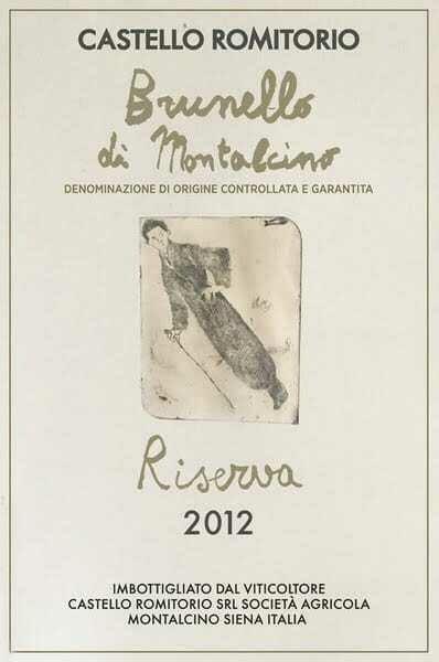 Castello Romitorio Brunello Di Montalcino Riserva 2012 ***SALE***