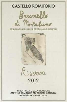 Castello Romitorio Brunello Di Montalcino Riserva 2012