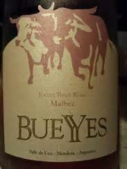 Bueyyes Malbec Extra Brut Rose 2016