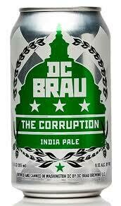 DC Brau Corruption IPA 6-pack