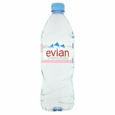 Evian 1.0L Pvc  Case