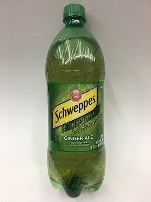 Schweppes Ginger Ale 1.25L