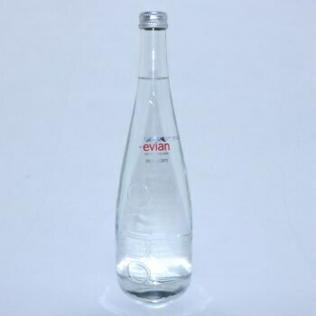 Evian 750ml Glass 12/case