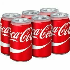 Coke Cans 6-pack