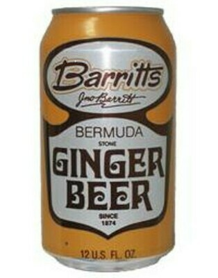 Barritt's Bermuda Ginger Beer Cans - 4-pk