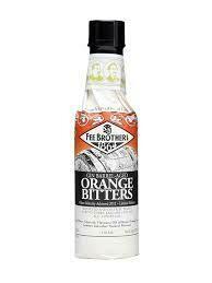 Fee Brothers Gin Barrel-aged Orange Bitters 5oz