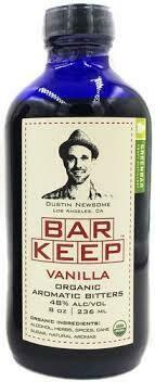 Bar Keep Vanilla Bitters 8oz
