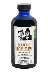 Bar Keep Saffron Bitters 8oz