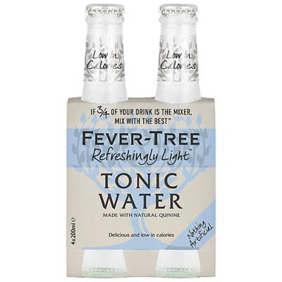 Fever Tree Naturally Light Tonic 4-pack
