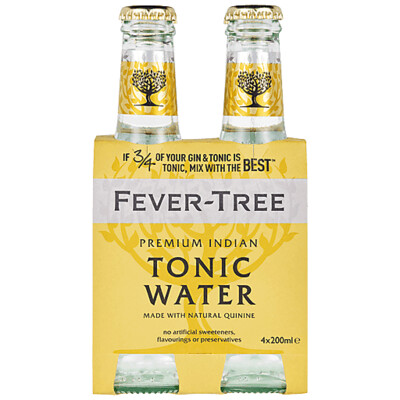 Fever Tree Tonic Water - 200ml 4-pack