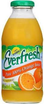 Everfresh Orange Juice Quarts