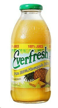Everfresh Pineapple Juice Quarts