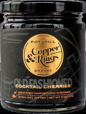 Copper & Kings Brandied Cherries  11oz