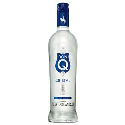 Don Q Cristal Rum 1.0L