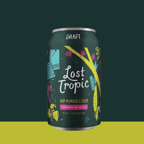 Graft Lost Tropic Cider 4-pack