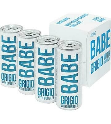 Babe Pinot Grigio 4-pack Cans