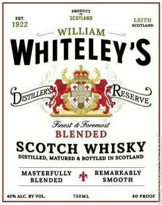 William Whiteley's Blended Scotch Whisky - 1.75L