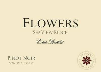 Flowers Pinot Noir Seaview Ridge Sonoma Coast 2015