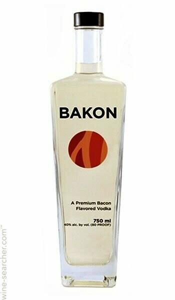 Bakon Vodka 750ml