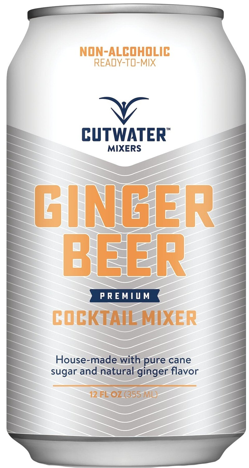 Cutwater Ginger Beer 4-pk Cans