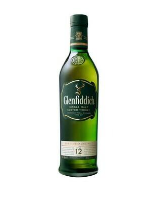 Glenfiddich 12-yr Scotch Malt Whisky 750ml
