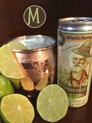 Bloomery SweetShine, MixAlchemy Moscow Mule · 250 ml can (Units of 4)