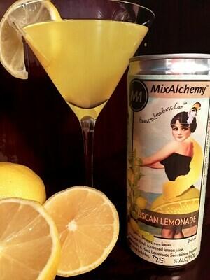 Bloomery SweetShine, MixAlchemy Tuscan Lemonade · 250 ml can (Units of 4)